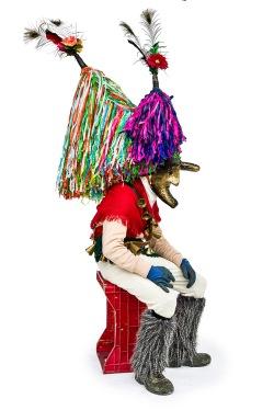 AlianAliano (MT), a horned mask / una maschera cornuta