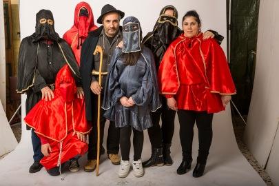 Lavello (PZ). Masks / Maschere