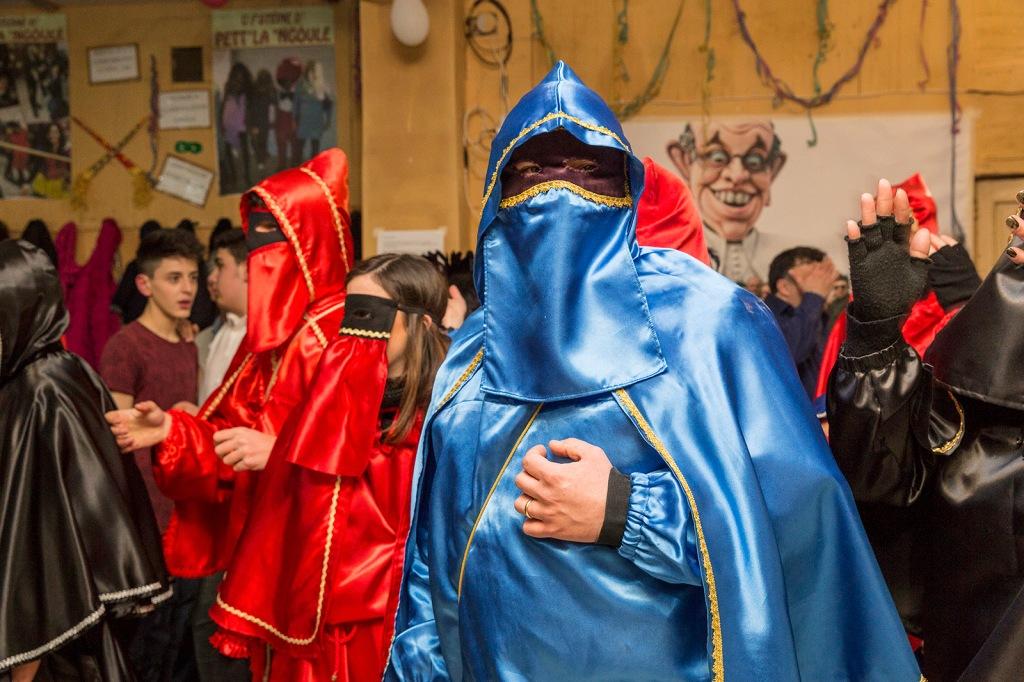 """Lavello (PZ): the moment of the dance (or """"Festino""""), which takes place every Saturday evening during the Carnival period, is the heart of the event. / Lavello (PZ): il momento del ballo (o """"Festino""""), che si svolge ogni sabato sera durante il periodo di Carnevale, è il cuore dell'evento."""