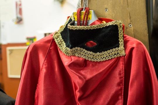 Lavello (PZ). Domino (Carnival Costume) / il Domino, tipico costume del Carnevale.