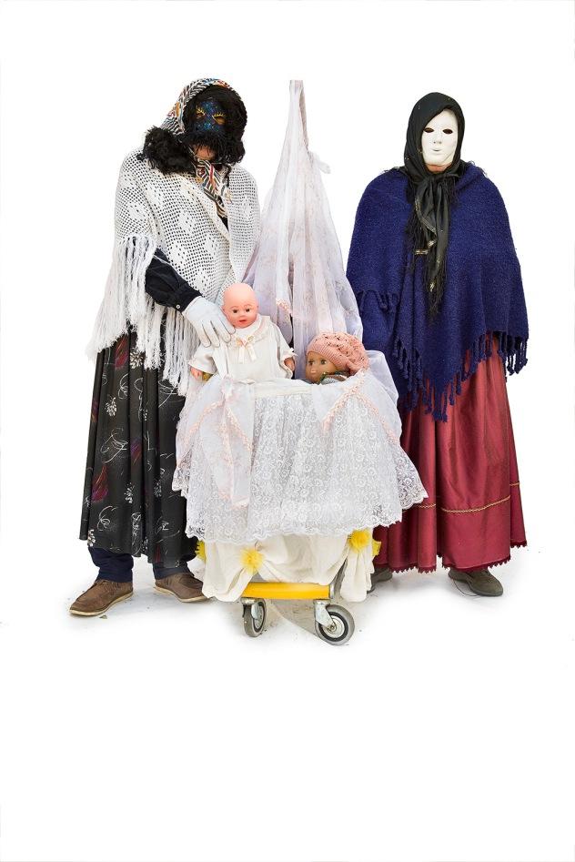 Carnival of Montescaglioso (MT) / Carnevale di Montescaglioso (MT). Masks / Maschere