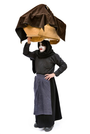 Carnival of Satriano di Lucania, a mask / Carnevale di Satriano di Lucania, una maschera