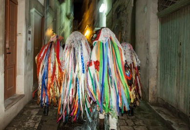 Tricarico (MT), during the Carnival / momenti del Carnevale