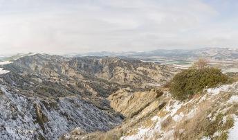 Calanchi in the whereabouts of Tursi (MT), february 2019 / Calanchi nei dintorni di Tursi (MT), febbraio 2019